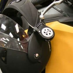 How to Lock your Helmet to Your Motorcycle