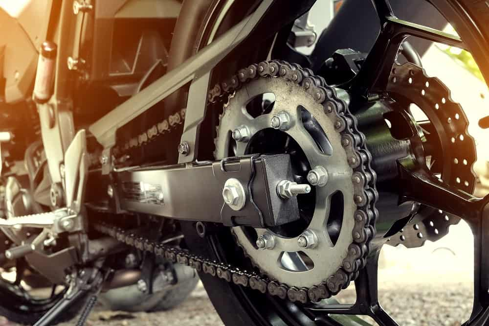 rear chain and sprocket